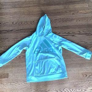 Girls's Adidas Mint Green Sweatshirt